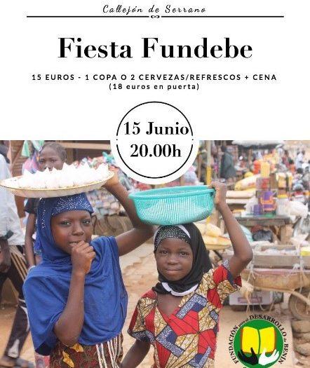 Invitación a Fiesta Solidaria 2018